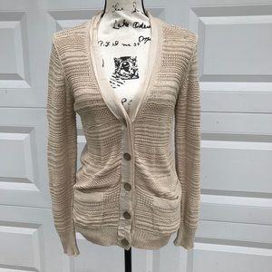 3.1 phillip lim  open knit sweater cardigan